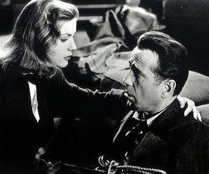 """Bogart und Bacall in """"Tote schlafen fest"""""""