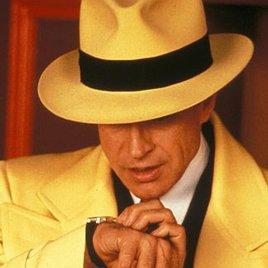 """""""Dick Tracy"""" startet seine Ermittlungen"""