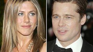 Erstes Wiedersehen von Pitt und Aniston