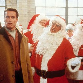 """Arnie ist der neue """"Bad Santa"""""""
