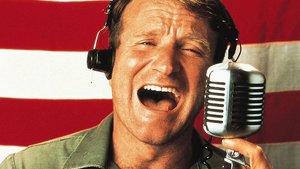 Robin Williams weckt Soldaten
