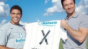 Wolverine tauscht Trikot mit Ronaldo