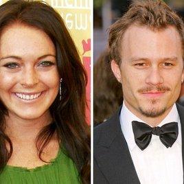 Lindsay Lohan & Heath Ledger waren liiert