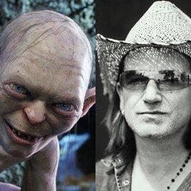 Gollum will Bono spielen