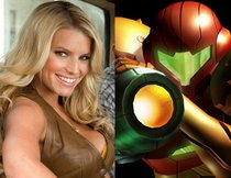 "Jessica Simpson in Uwe Bolls ""Metroid"""