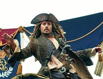 """Fluch der Karibik"": Johnny Depp liebt Narrenfreiheit bei Jack Sparrow"