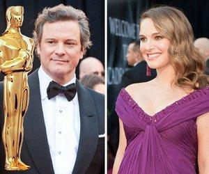 """Oscars: Colin Firth dankt wie in """"The King's Speech"""", Natalie Portman weint"""