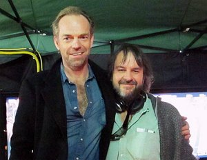 """The Hobbit"": ""Elrond"" Hugo Weaving bereits am Set"
