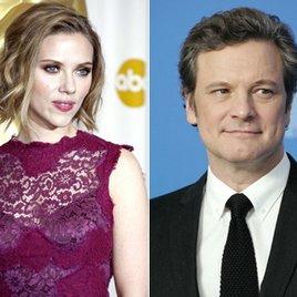 "Scarlett Johansson und Colin Firth in Danny Boyles ""Trance"""