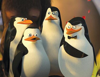 """""""Madagascar""""-Pinguine heben ab"""