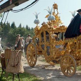 "Bei den Dreharbeiten zu ""Ludwig II."""