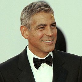George Clooney und Brad Pitt spielen Theater für die Homo-Ehe
