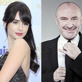"""""""Schneewittchen"""" Lily berühmter als Papa Phil Collins"""