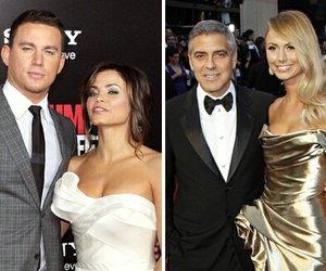 """Magic Mike"" Channing Tatum feiert mit George Clooney"