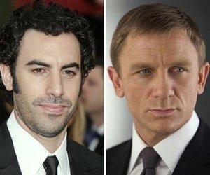 "Sacha Baron Cohen mit ""Bond""-Parodie"