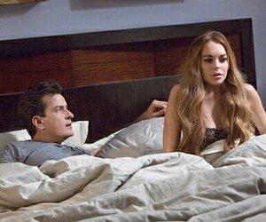 "Charlie Sheen im Bett mit Lindsay Lohan in ""Scary Movie 5"""