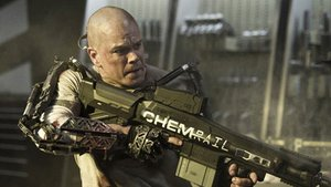 "Matt Damon im ""Terminator""-Look in ""Elysium"""