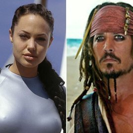 Lara Croft und Jack Sparrow sind Date-Favoriten am Valentinstag