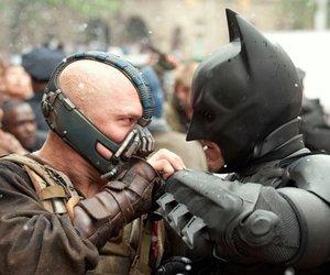 Batman und Bane wollen aufs Dach der Welt