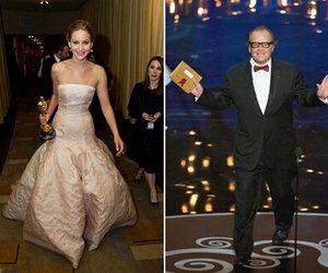 Jennifer Lawrence flirtet mit Jack Nicholson