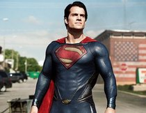 Superman zeigt sich in Smallville