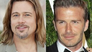 Brad Pitt will David Beckham als Kick-Lehrer