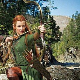 """""""Hobbit 2"""": Erstes Bild von Elbenkriegerin Tauriel"""