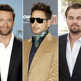 Jackman, Downey jr. & DiCaprio sind mächtigste Filmstars
