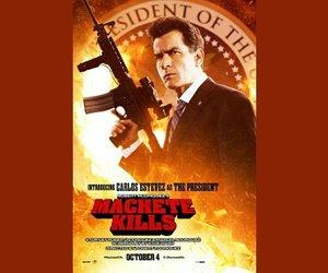 """Charlie Sheen als US-Präsident: Erstes Bild aus """"Machete Kills"""""""