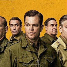 "Clooney & Damon retten Nazi-Kunst: Trailer zu ""Monuments Men"""