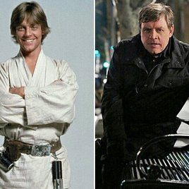 """Luke Skywalker macht Situps für """"Star Wars 7"""""""
