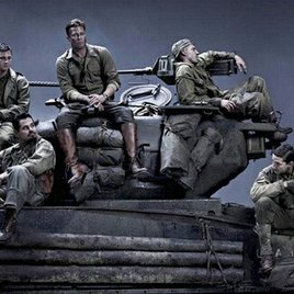 Brad Pitt & Shia LaBeouf im Panzer