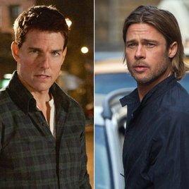 Brad Pitt rast gegen Tom Cruise