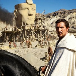 Erstes Foto von Christian Bale als Moses