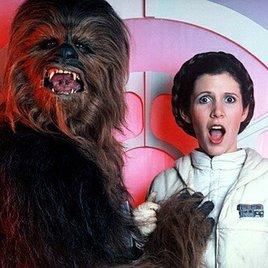"""Sechs Monate """"Star Wars""""-Dreh für Carrie Fisher"""