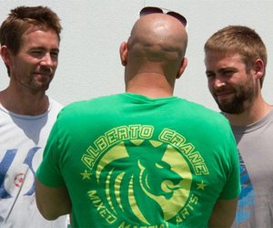 "Paul Walkers Brüder am ""Fast 7""-Set"
