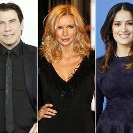 Veronica Ferres spielt mit Travolta & Hayek