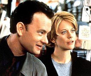Tom Hanks steht für Meg Ryan vor der Kamera