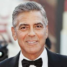 """George Clooney in """"Downton Abbey"""""""