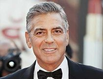 "George Clooney in ""Downton Abbey"""
