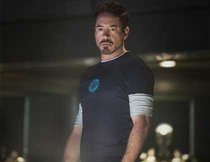 "Robert Downey Jr. als ""Iron Man"" in ""Captain America 3"""