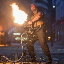 "Statham vs. The Rock in ""Furious 7""-Ausschnitt"