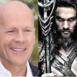"""""""Aquaman"""" klaut Bruce Willis' Hund"""