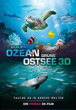 Blauer Ozean Grüne Ostsee Poster