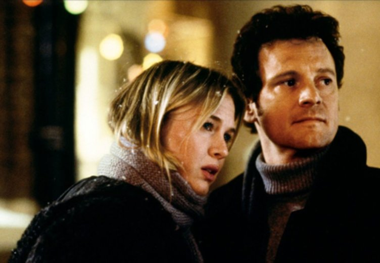 """Renée Zellweger und Colin Firth in """"Bridget Jones 1"""" © UIP"""