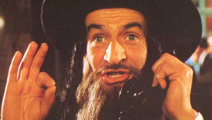 Die Abenteuer des Rabbi Jacob - Trailer Poster