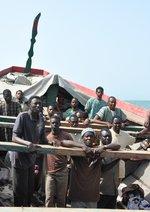 Die Piroge - Boot der Hoffnung Poster
