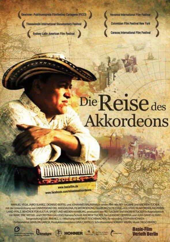 Die Reise des Akkordeons Poster