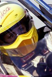Die Rennfahrerin