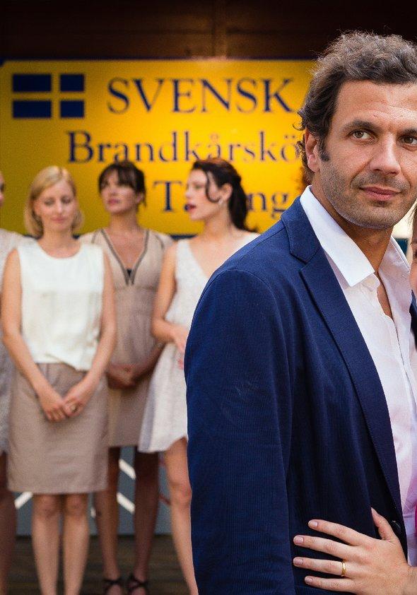 Inga Lindström: Feuer unterm Dach Poster